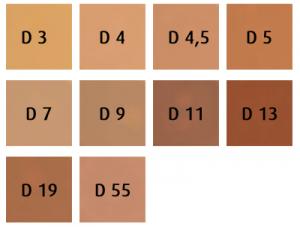 Dermacolor Body Cover Kleuren